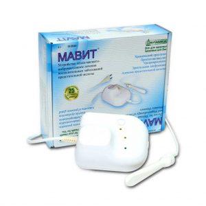 С помощью прибора Мавит массаж простаты проводится одновременно с магнитотерапией