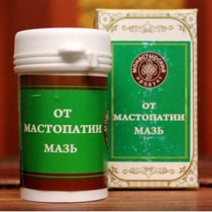 Мази от мастопатии изготавливаются на основе растительных компонентов