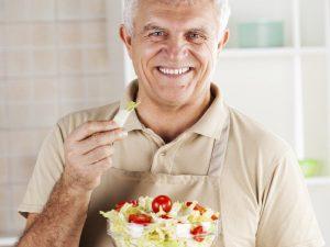 Овощной салат - лучший ужин при простатите