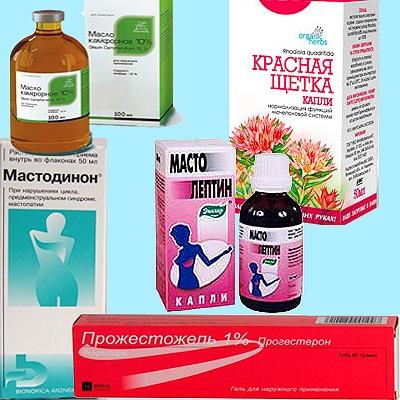 Хорошие результаты в борьбе с мастопатией дают препараты на растительной основе