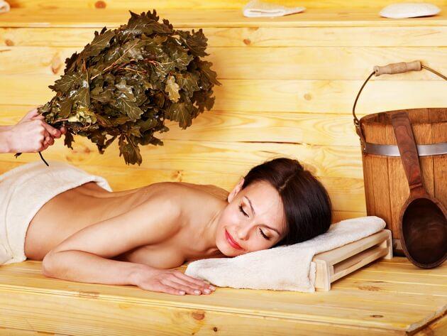 При наличии доброкачественной опухоли противопоказаний к посещению бани нет