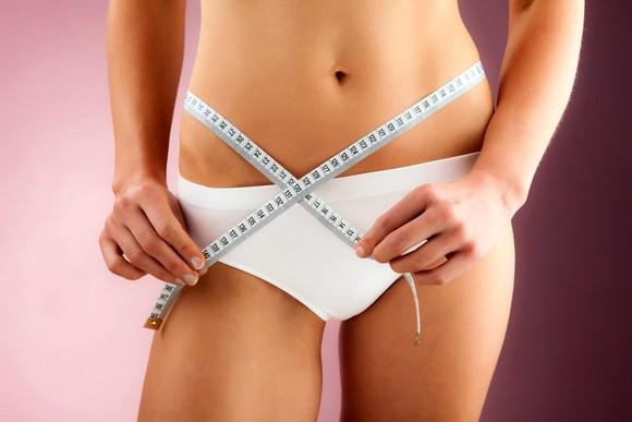 При правильно налаженном питании женщина быстро худеет
