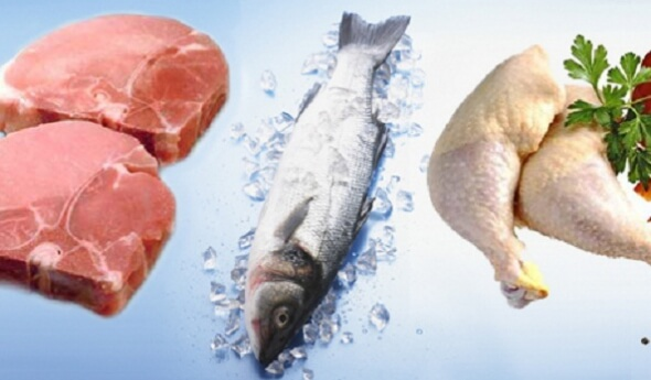 Диета должна включать нежирную пищу с высоким содержанием белка