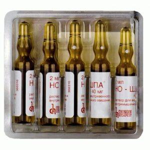 Для лечения простатита может быть назначена Но-шпа в ампулах