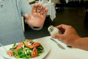 Соль при простатите необходимо ограничить