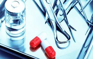 Проведение операции на щитовидной железе