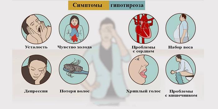 При гипотиреозе изменения происходят во всех органах и системах организма