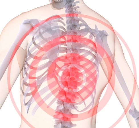 Причиной непроходящей боли может быть остеохондроз