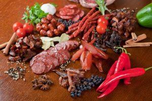 Перед проведением анализа запрещено употреблять острый и жирные продукты
