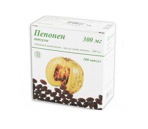 При простатите назначается растительный препарат Пепонен
