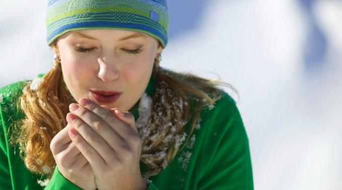 Переохлаждение организма - одна из причин появления мастита