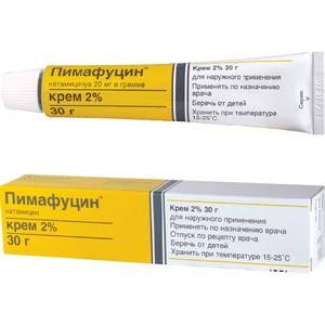 Пимафуцин рекомендован для наружного применения