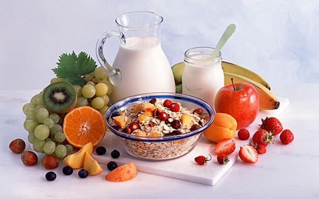 Необходимо соблюдать правила рационального питания