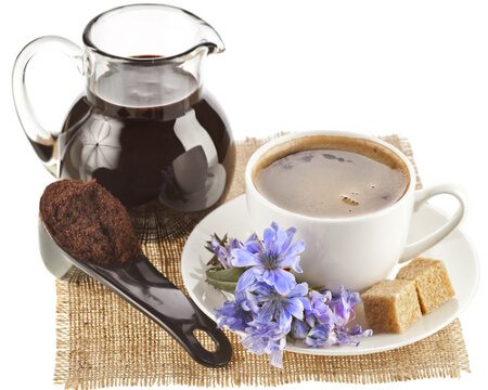 Цикорий содержит много полезных веществ и его можно пить даже при простуде