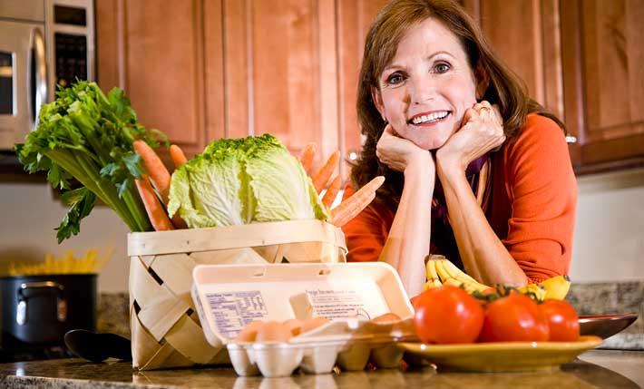 При заболеваниях грудной железы важно придерживаться правильного питания