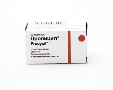 Гипотиреоз может стать побочным эффектом терапии Пропилтиоурацилом