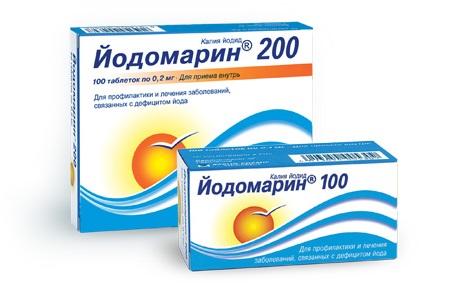 Для терапии заболеваний щитовидки назначаются препараты йода