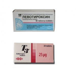 Препараты от заболеваний щитовидки