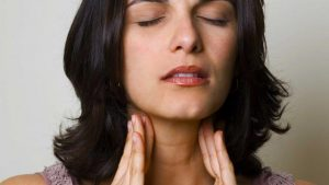 В период климакса щитовидная железа может уменьшаться в размерах