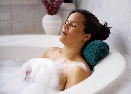 Необходимо избегать частого приема горячей ванны