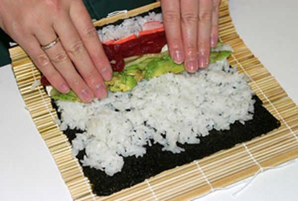 Продукты для суши должны быть из специализированных магазинов