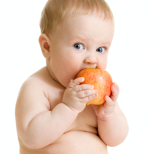 При избыточном весе начинают прикармливать с фруктов