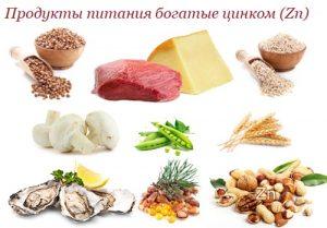 Продукты с высоким содержанием цинка полезны для щитовидной железы