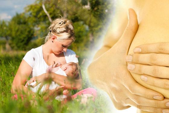 Грудное вскармливание помогает защитить себя от рака молочной железы