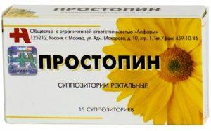 Простопин применяется при хроническом простатите