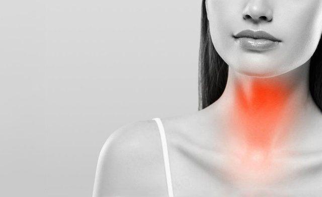 Эутиреоз характеризуется появлением неприятных ощущений в горле