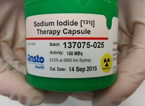 Терапия радиоактивным йодом эффективна при раке щитовидной железы