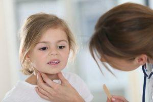 Размер щитовидной железы у ребенка зависит от возраста