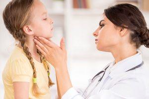 Щитовидная железа отвечает за нормальное развитие ребенка