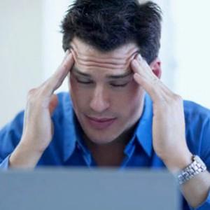 Человек ощущает быструю утомляемость и отсутствие концентрации внимания