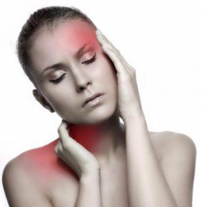 При зобе может появиться боль при наклонах головы