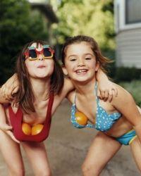 Рост груди у детей