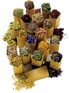 В терапии щитовидной железы используются различные травяные сборы