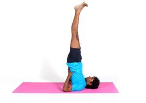 Упражнение березка - хорошая профилактика геморроя и запоров