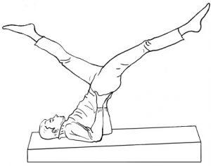 Выполнение упражнения ножницы поможет подготовиться к массажу простаты