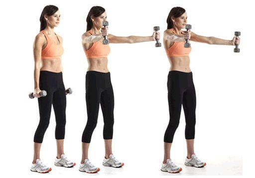 Физические упражнения помогают восстановить форму груди