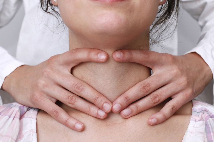 Увеличение щитовидки на ранней стадии может оставаться незамеченным