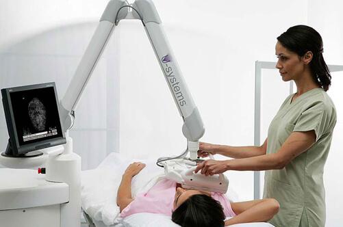 С помощью УЗИ можно диагностировать кисту молочной железы