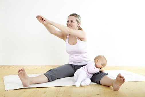 Занятия спортом помогут вернуть фигуру после родов