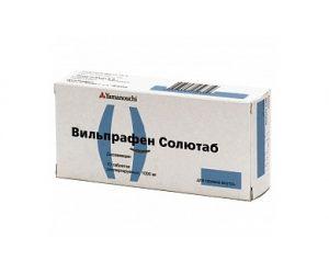 Вильпрафен назначается для лечения простатита