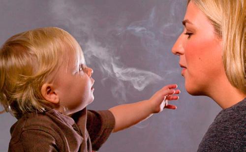 Курение матери вредит здоровью ребенка