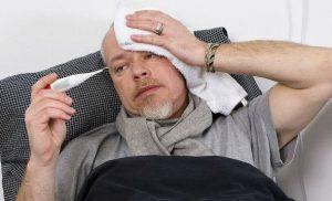 Острый простатит вызывает повышение температуры тела