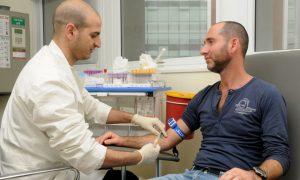Забор крови для анализа ПСА проводится из вены