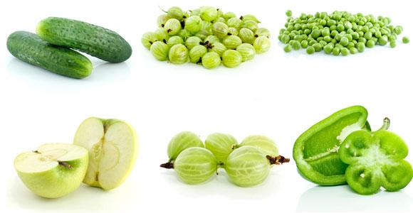 Пациентам с увеличенной щитовидкой необходимо употреблять много зеленых овощей и фруктов