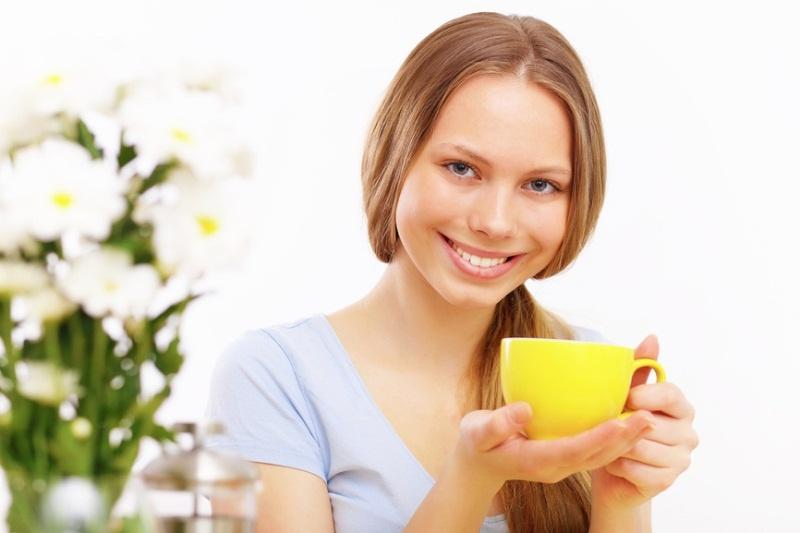 Зеленый чай обладает бодрящим эффектом