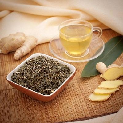 В тибетской медицине для лечения щитовидки используется зеленый чай с имбирем
